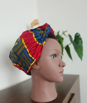 African Print Turban /  Badoo