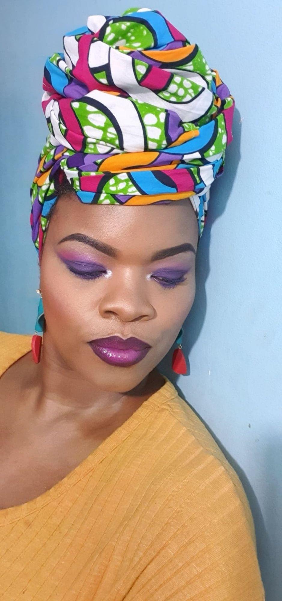 African Print Head Wrap/ lmpa