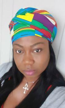 African Print Head Wrap/  Nnsu
