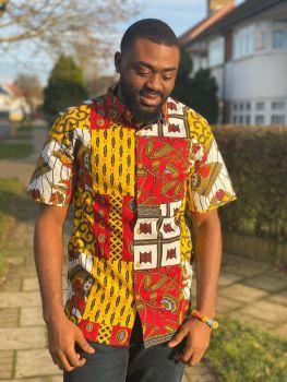 African Print Shirt / Kuay