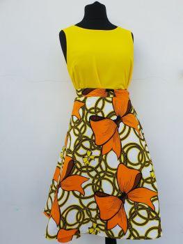 Wrap Skirt /Midi Skirt/  Bows