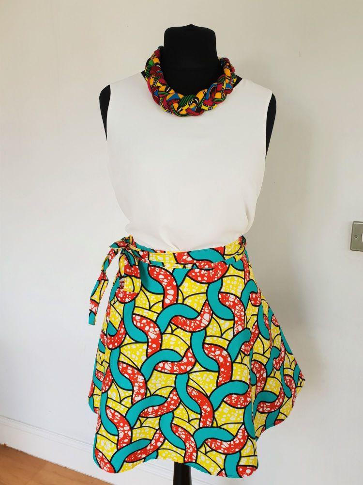 Wrap Skirt /Midi Skirt/ Setor