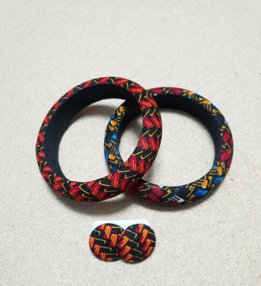 Bangle and Earring Set /ketepa