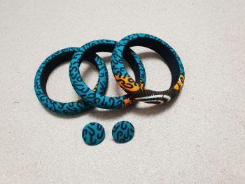 Akua Bangle and Earring Set