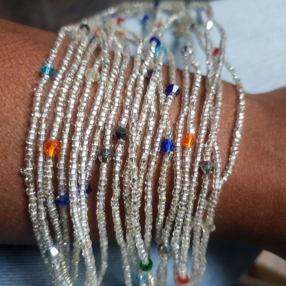 Waist Beads / Silver