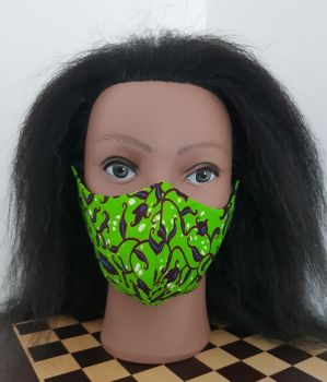 Face Mask/ Green Vine