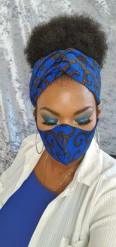 Face Mask/ Blue Roni
