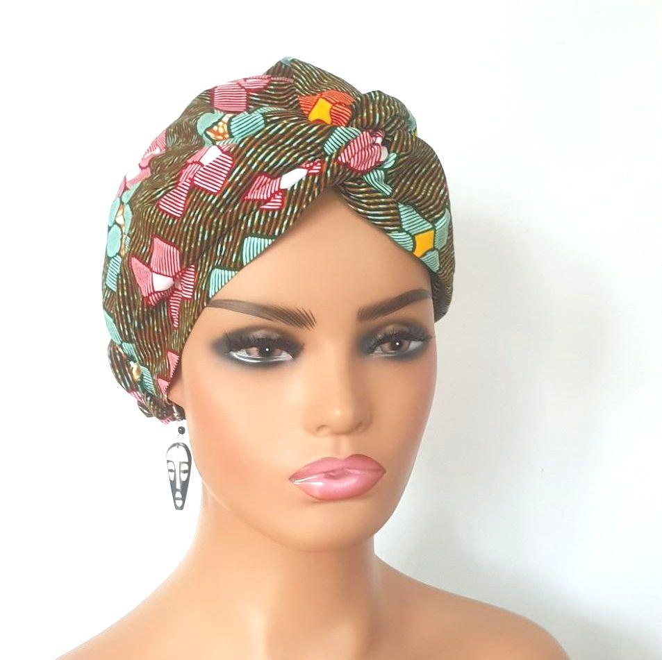 African Print Turban / Tema