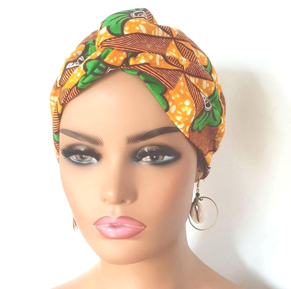 African Print Turban/  Sesima