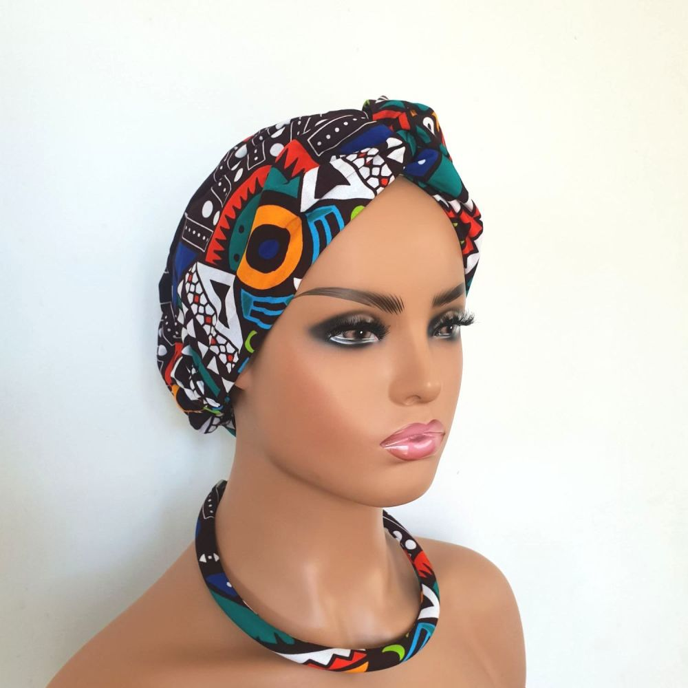 African Print Turban / Sipo