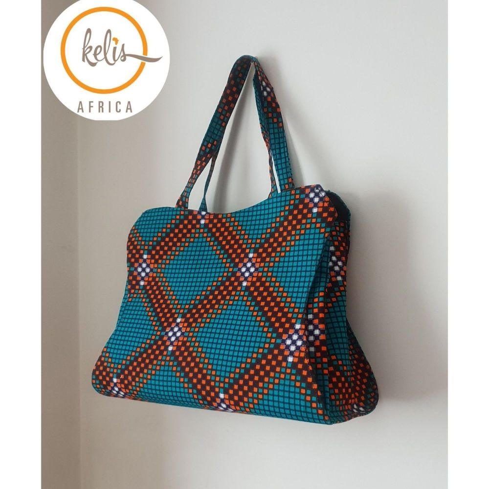 Ankara Tote Bag/ Awsa