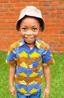 African Print Shirt/ Lagos