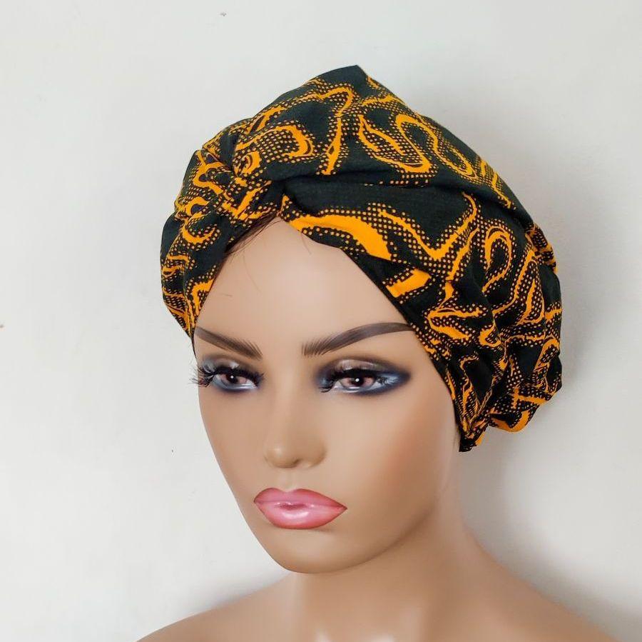 African Print Turban / Defua