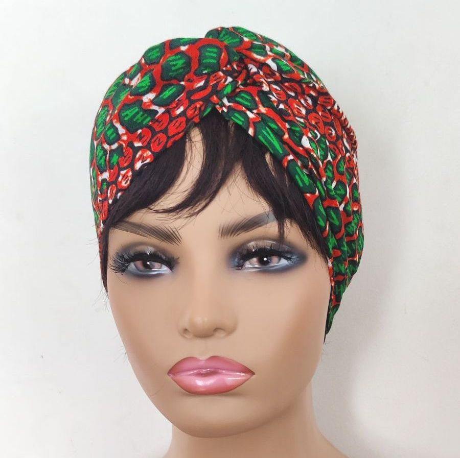 African Print Turban /Kemi
