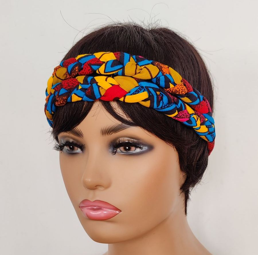 African Print Head bands/  Adobia