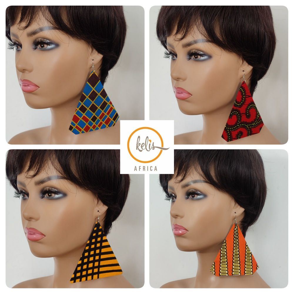 Earrings/ Large Triangles