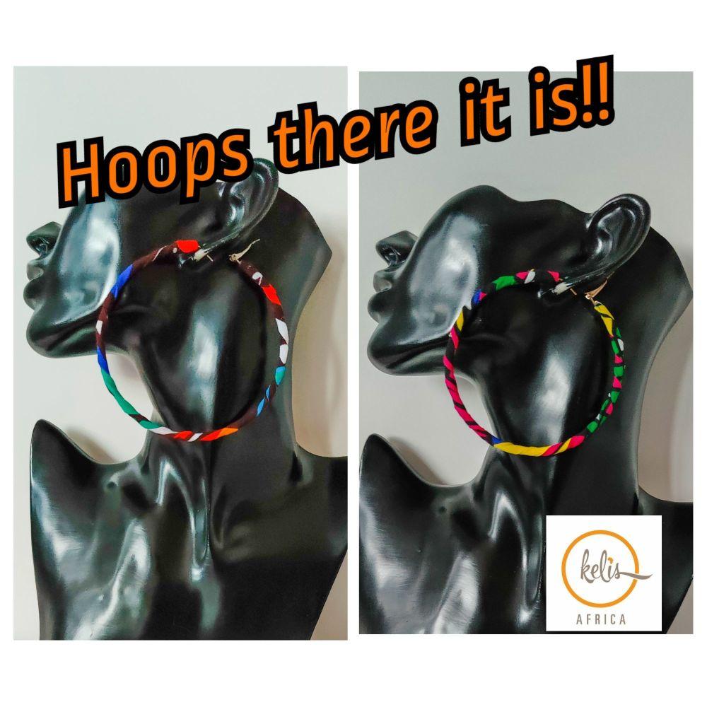 Earrings/ Cookie Hoops