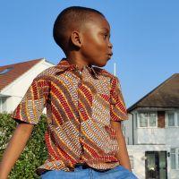 African Print Shirt/ Eli