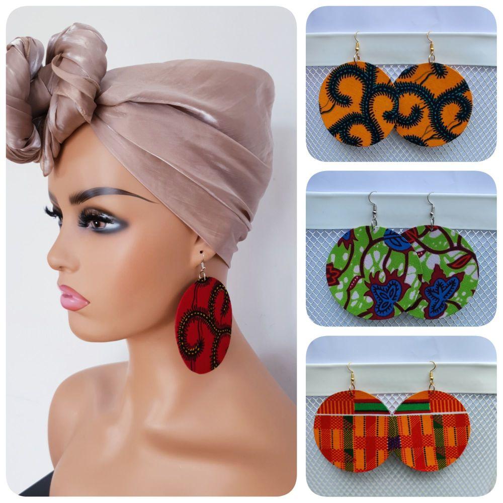 Earrings/ Circle