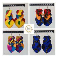 Earrings/ Statements/ 3 Hearts