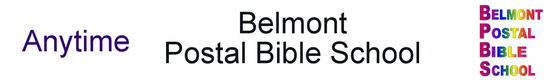 Belmont Postal Bible School