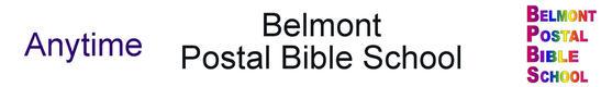 Belmont Postal Bible School