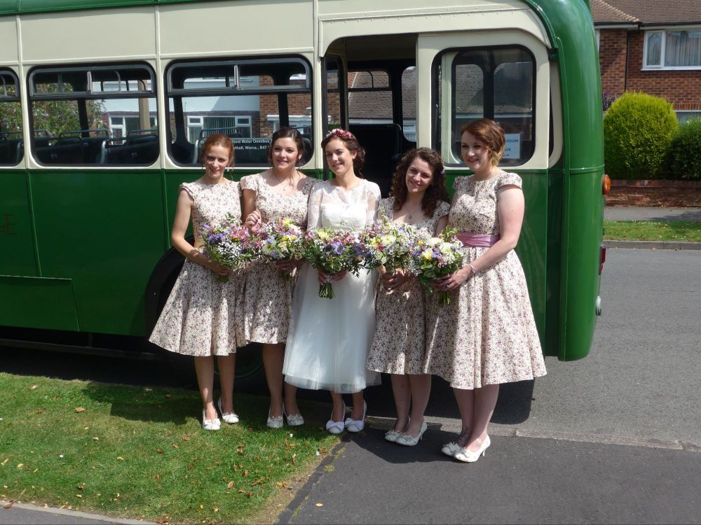 Bridesmaids dresses handmade