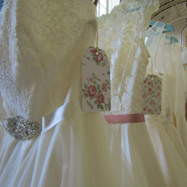 handmade  bespoke wedding dresses