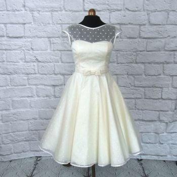 The Dotty Silk Dress