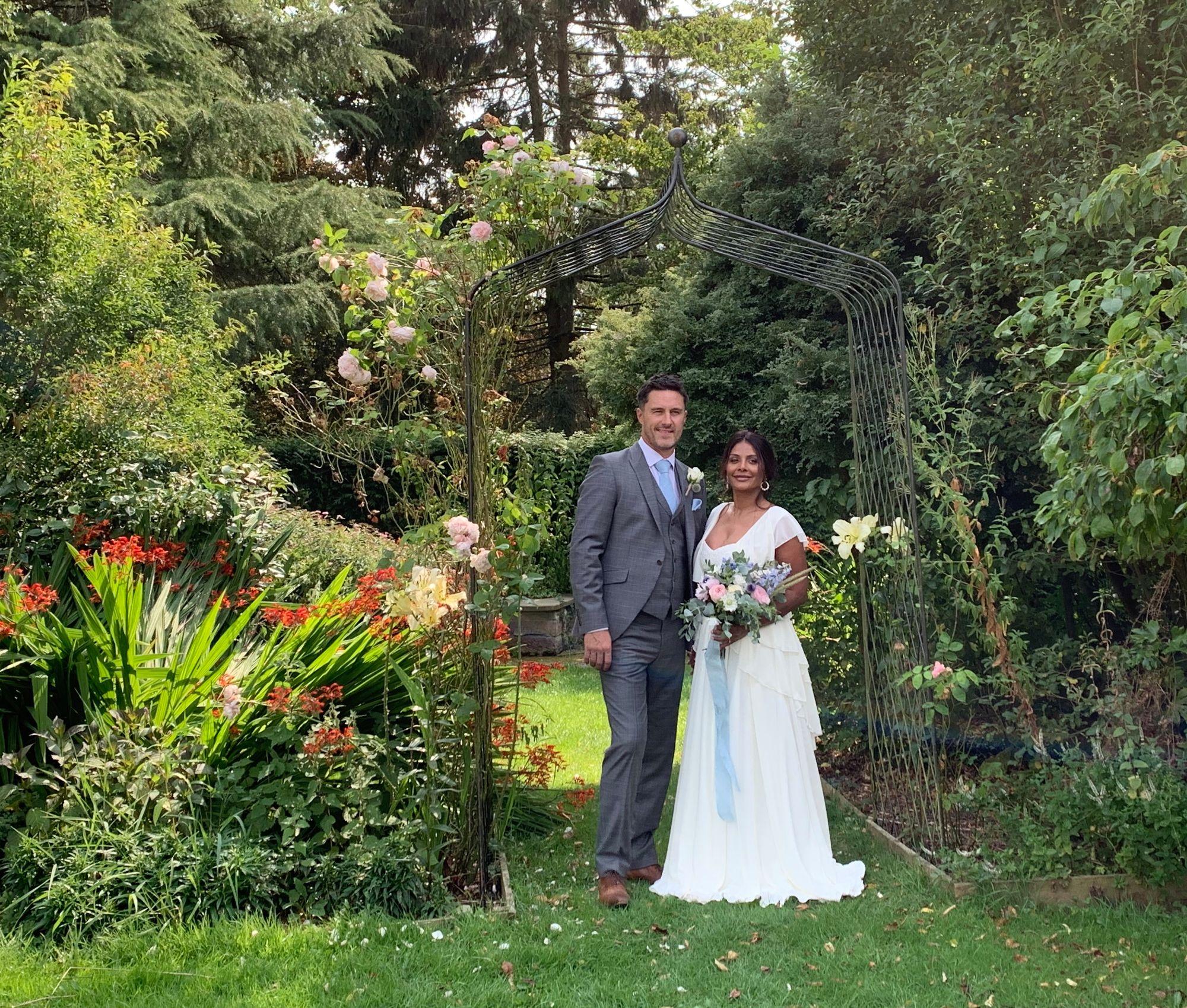 bespoke bride Tina