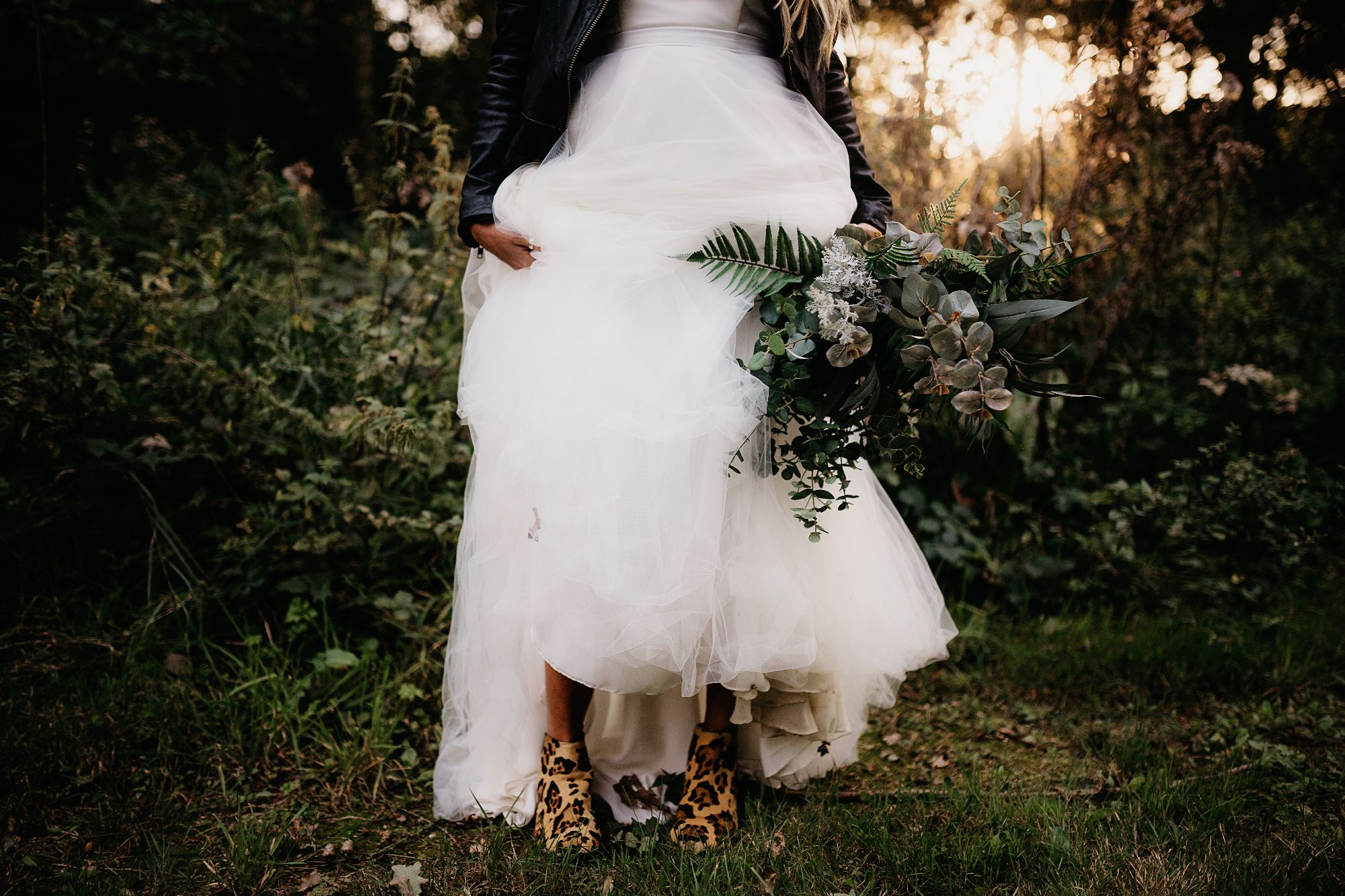 handmade boho bespoke Wedding Dress