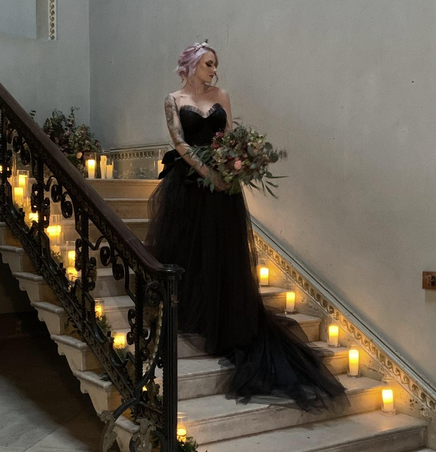handmade boho bespoke Wedding Dress