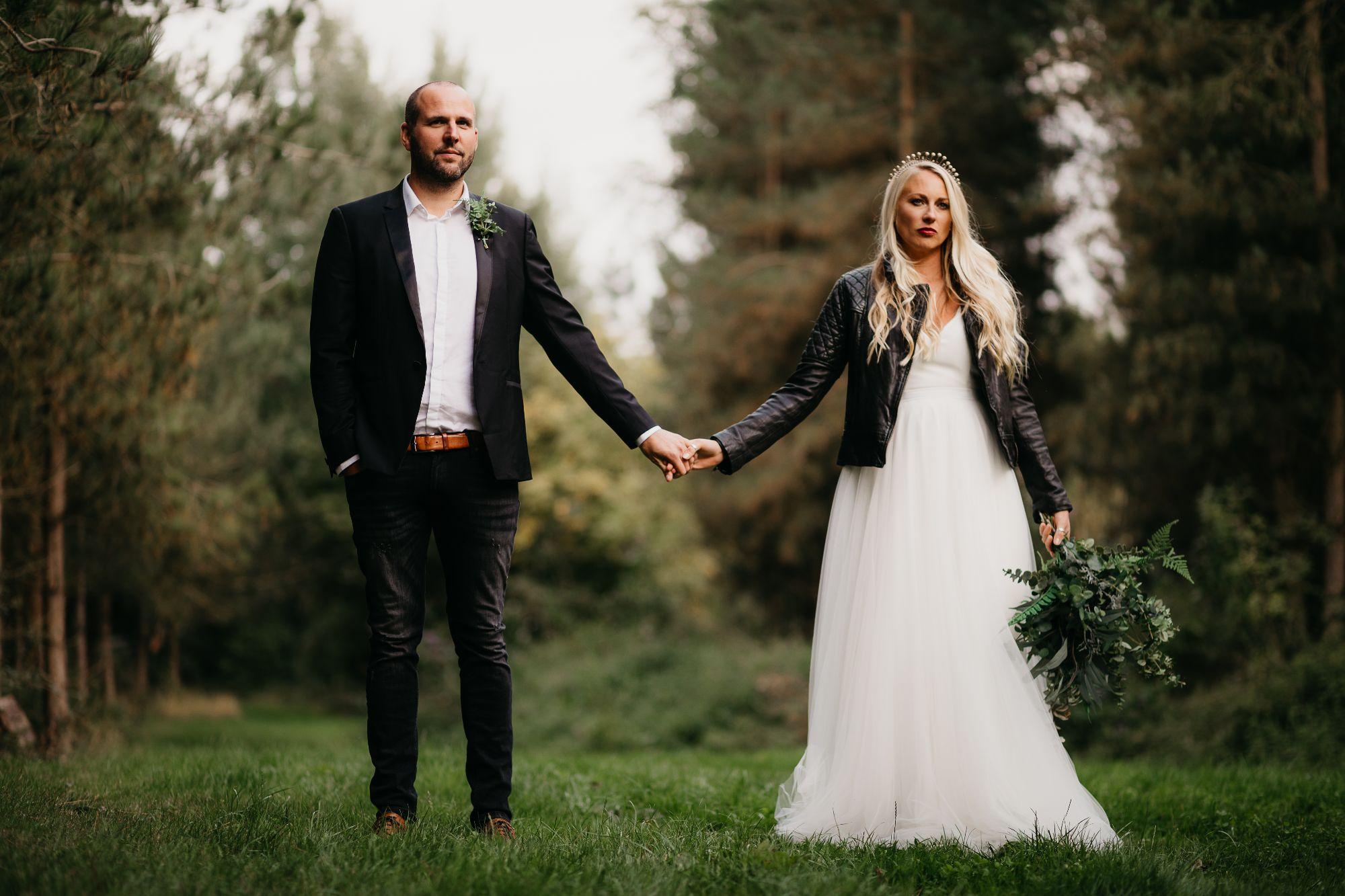 ivory boho alternative wedding dress