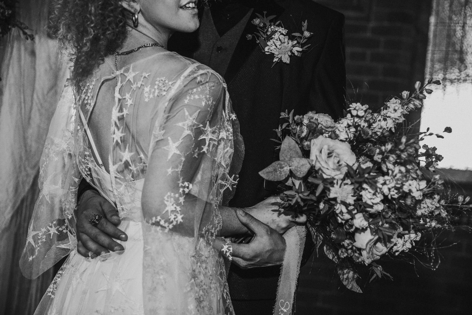 Vega Stars Wedding Dress