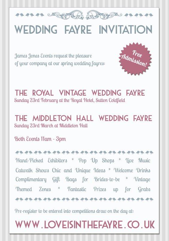 WeddingFayres2014