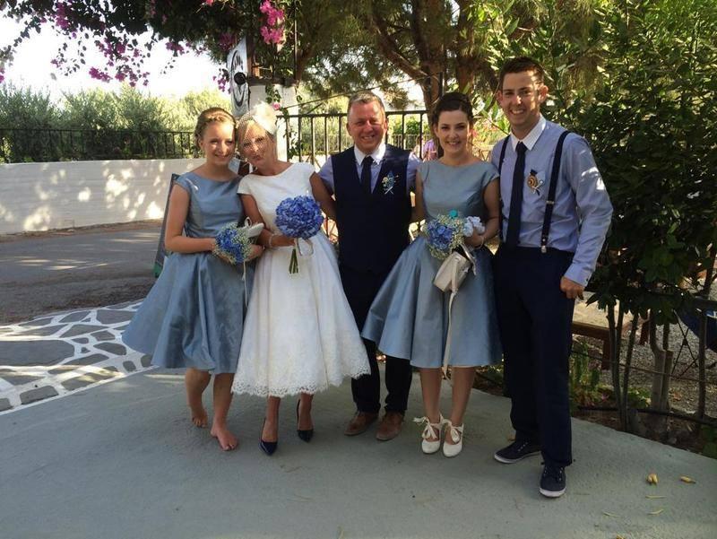 Tea Length Wedding Dress for Bridesmaid