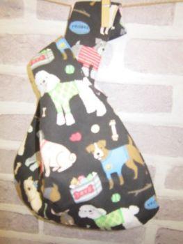 Posh Dog for You - bag 01 - Japanese Loop style handbag