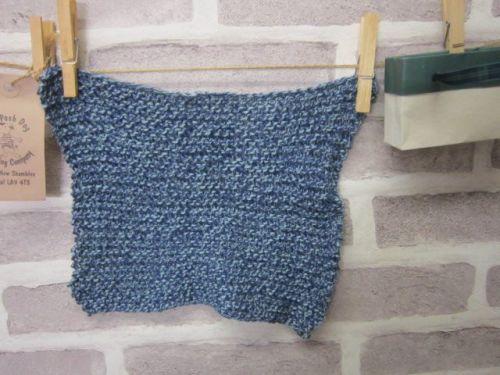 Handmade Posh Dog wash cloth - 004