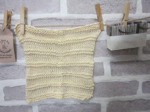 Handmade Posh Dog wash cloth - 008