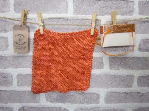 Handmade Posh Dog wash cloth - 013