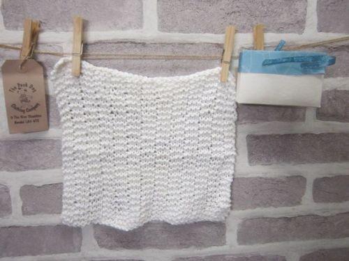 Handmade Posh Dog wash cloth - 011