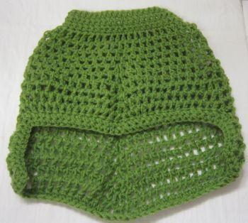 Handmade Posh Dog Jumper - 004 - Crochet poncho size S/M