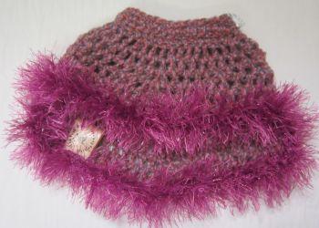 Handmade Posh Dog Jumper - 003 - Crochet poncho size S