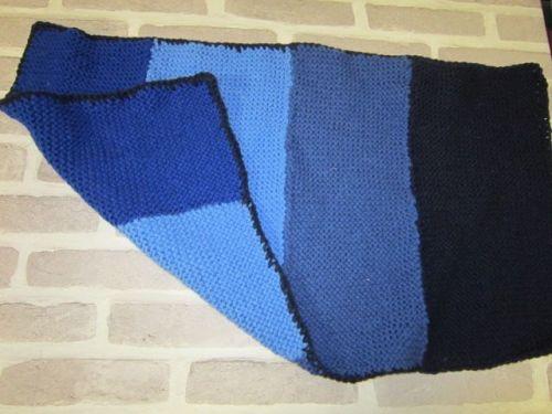 Handmade Posh Dog knitted blanket - 001 - small size *