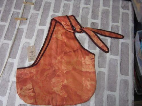 Handmade Posh Dog Carry Sling - 05 - large size