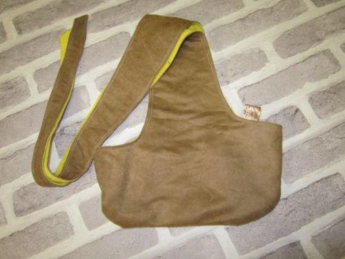 Handmade Posh Dog Carry Sling - 01 - small size *