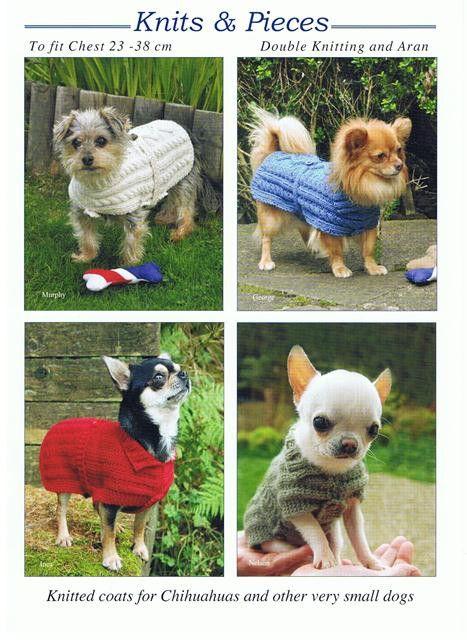 Knitting Pattern - chihuahua / small dog