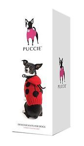 Puccie Designer Dog Coat - 'Ladybird' complete kit