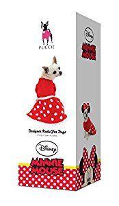 Puccie Designer Dog Coat - Disney 'Minnie Mouse' complete kit
