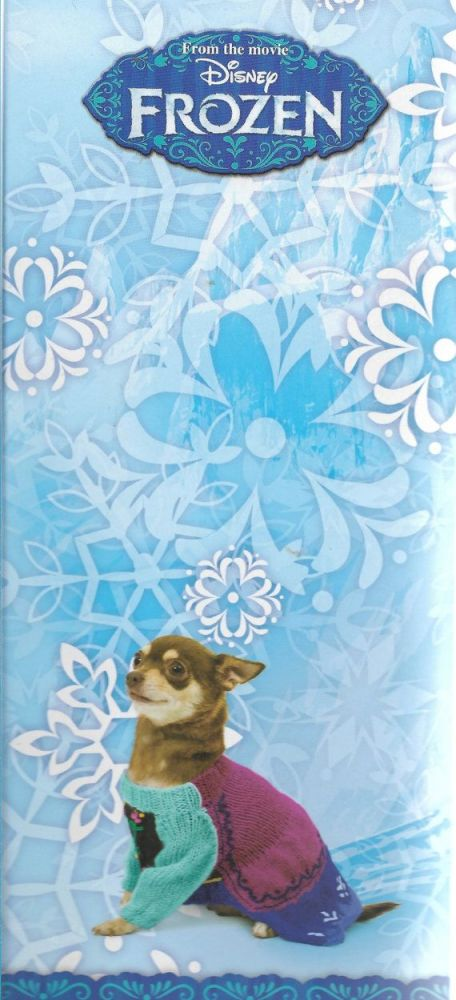Puccie Designer Dog Coat - Frozen 'Anna' complete kit
